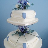 2 Tier Heart Swag  £240.00