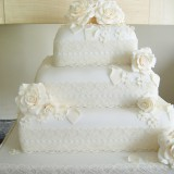 3 Tier Roses and Lace  £310.00