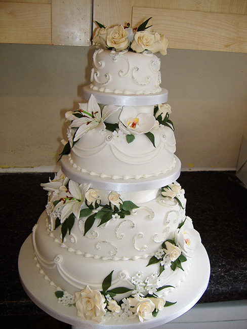 4 Tier Lily Orchid £410.00