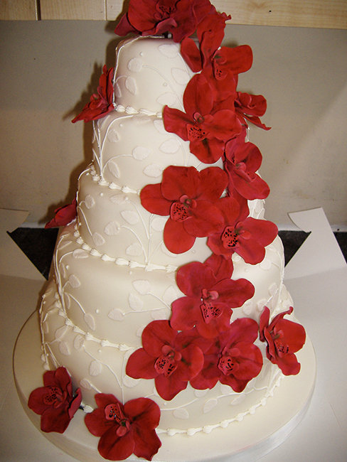 5 Tier Trailing Orchids £480.00