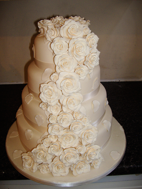4 Tier All Roses £390.00