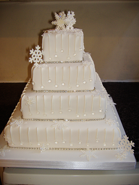 4 Tier Crystal Flake  £360.00
