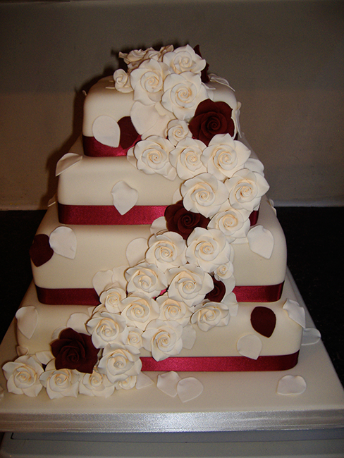 4 Tier Rose Cascade £390.00