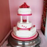 3 Tier Baby Rose £310.00