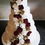5 Tier Rose Cascade £460.00
