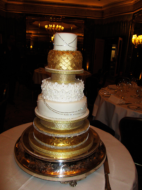 5 Tier Gold Dorchester £480.00