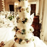 5 Tier Margaret £450.00 with flowers provided, or £350.00 if supplying your own