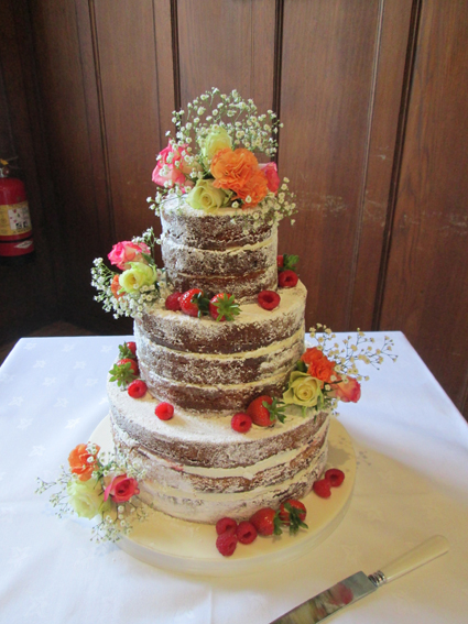 3 tier Naked cake £250.00
