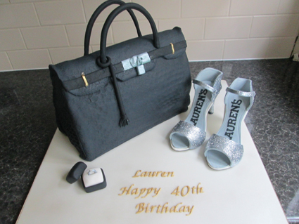 HAND BAG AND SHOES £110.00