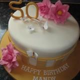 50th BIRTHDAY CAKE £55.00