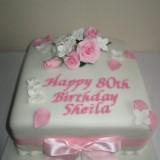 Birthday cake 8in sponge £40.00
