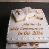 Holy Communion cake 8in £45.00 sponge