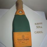 Champagne bottle£70.00 sponge