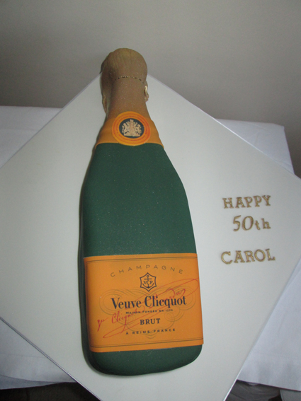 Champagne bottle£70.00 sponge