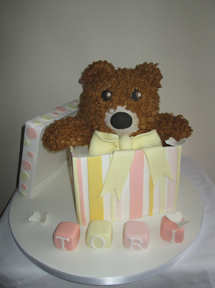 TEDDY IN A BOX £85.00