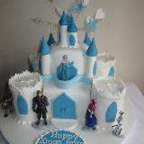Frozen castle cake £95.00