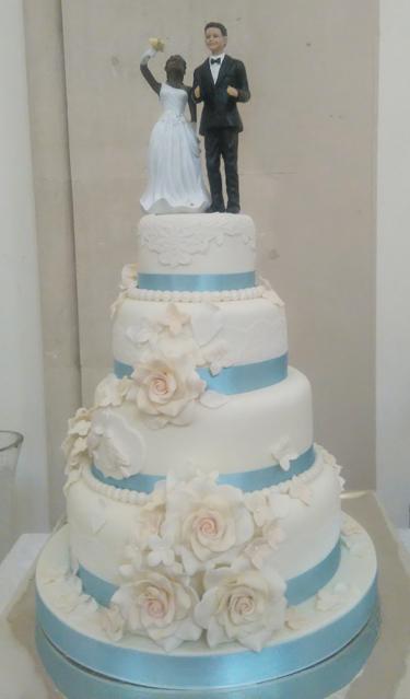 4 Tier Wedding Cakes – classic-cakes.com – Sugar Flowers, Naked Cakes